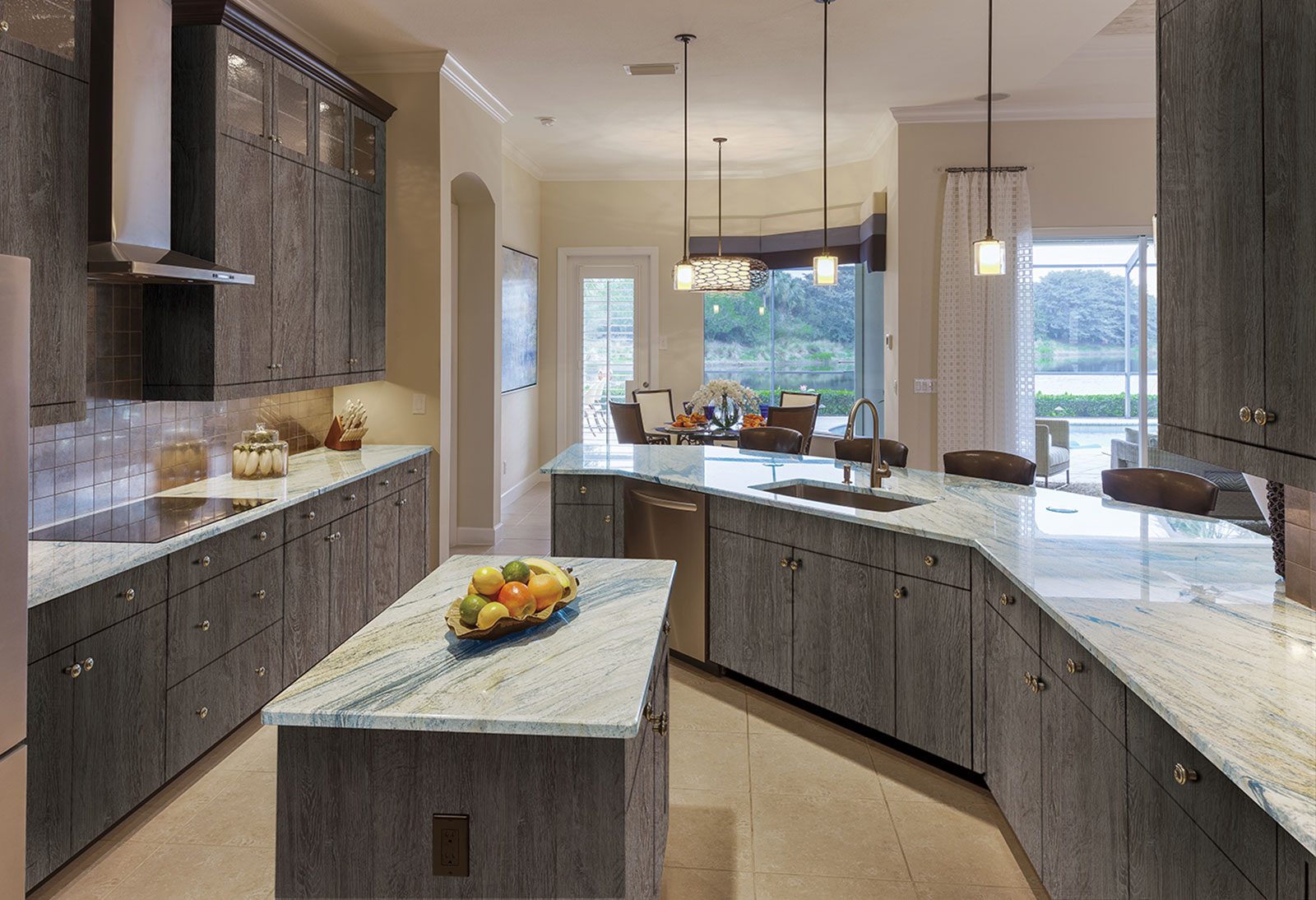 How To Drive Manual >> Aged Stone Kitchen - Sonae Arauco