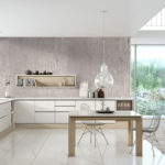 Natural Concrete, Symphony and Pure White