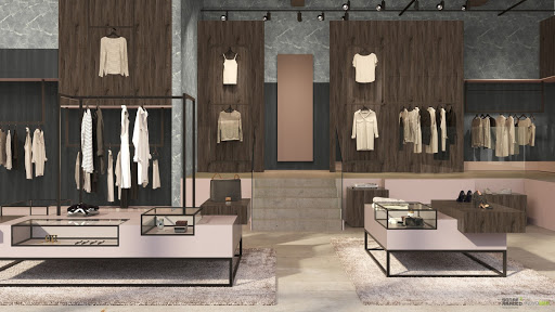 Retail space design applications
