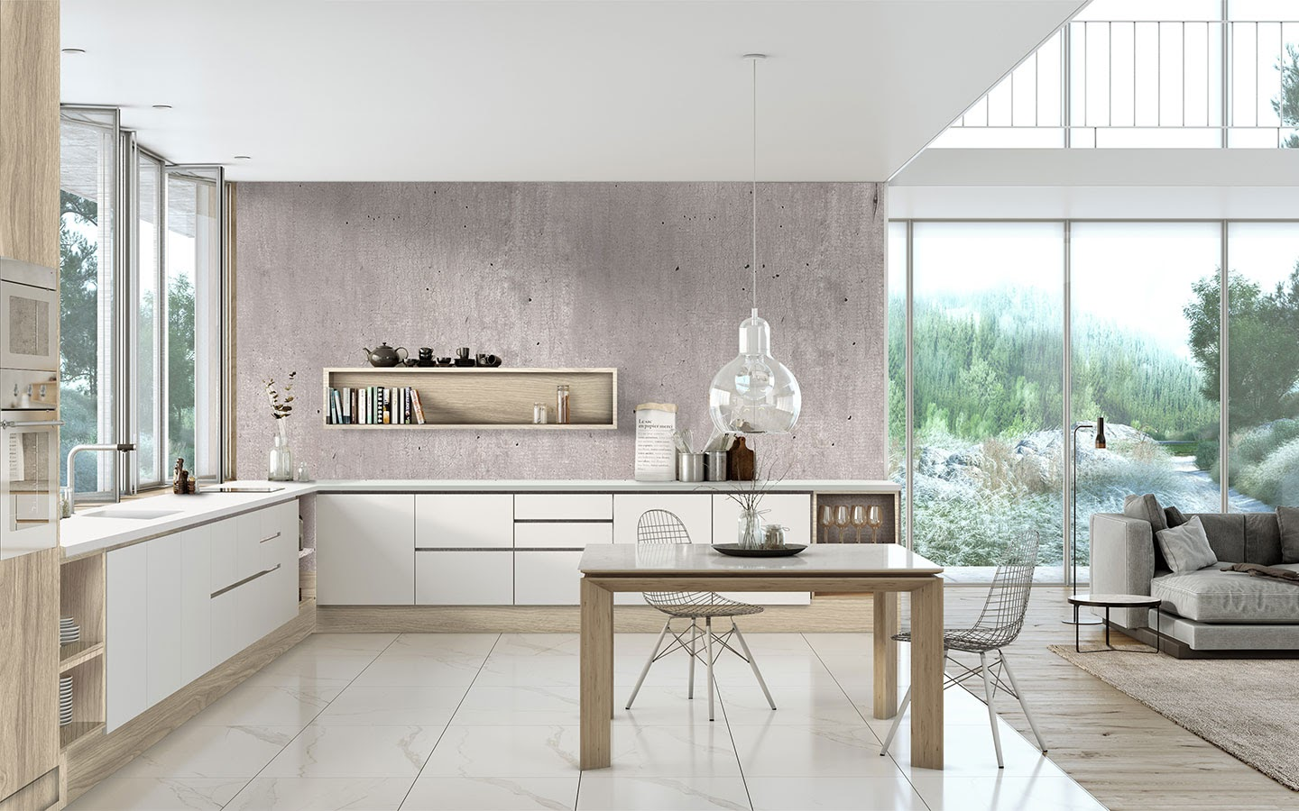 The benefits of having an open plan kitchen