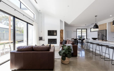A vision of open-plan interior spaces
