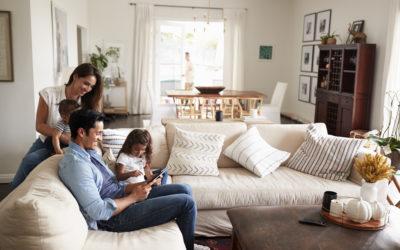 Defining multi-functional living spaces